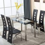 Different types of chairs and tables